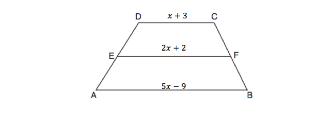 Medians on a Trapezoid