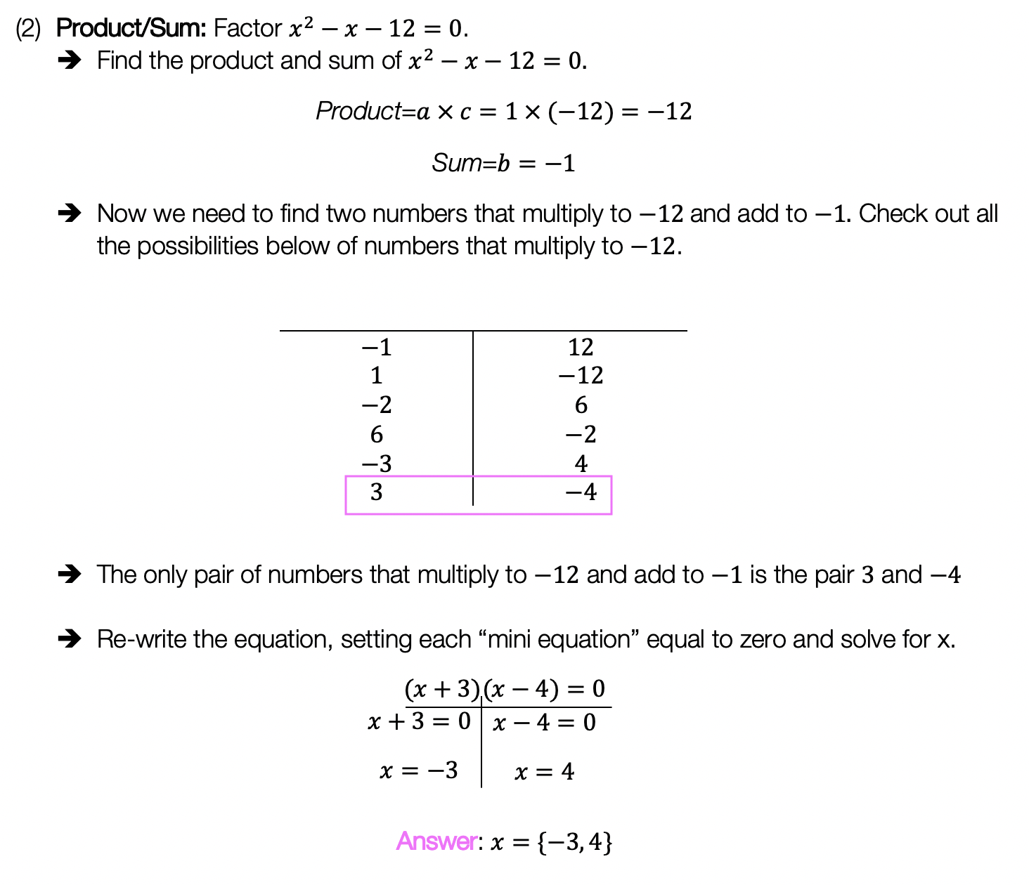 4 Ways to Factor Trinomials