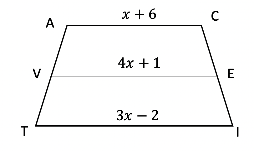 Median of a Trapezoid Theorem