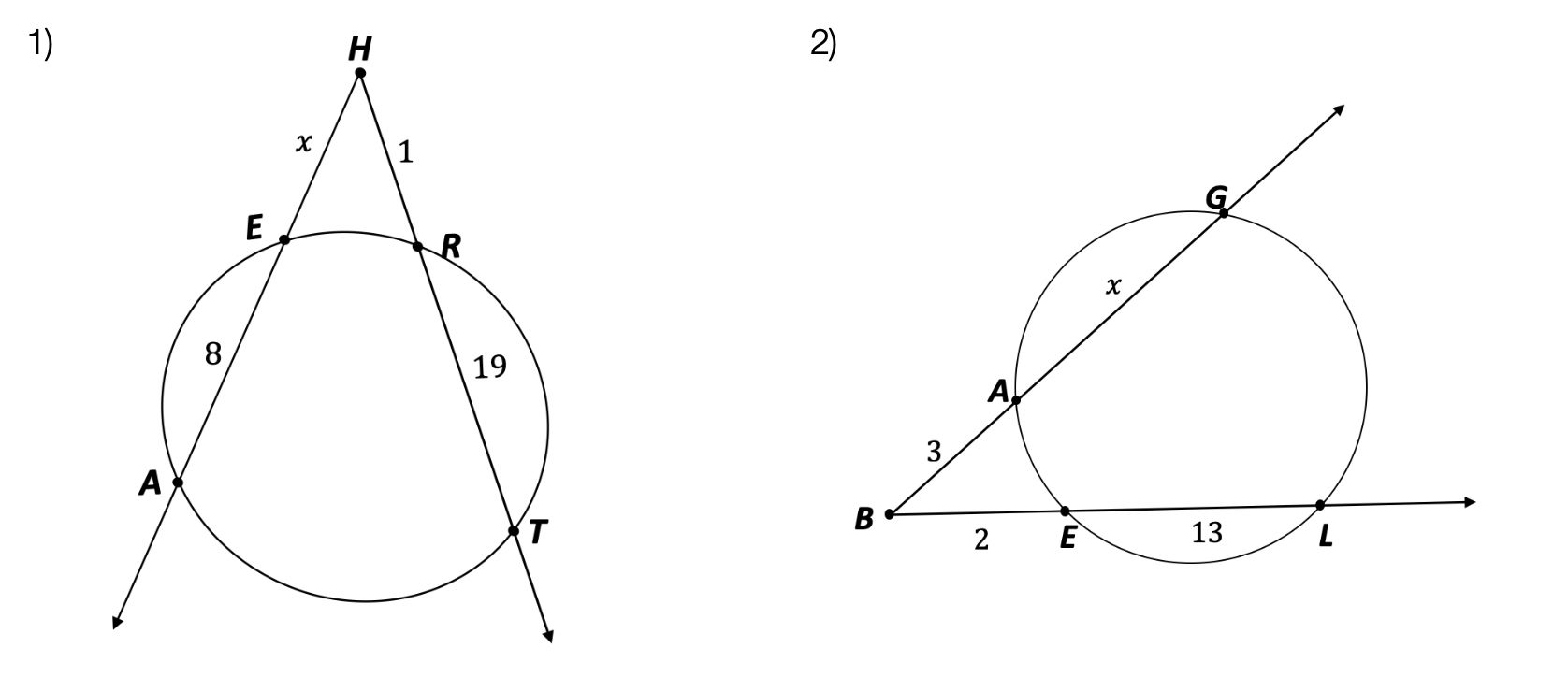 Intersecting Secants Theorem