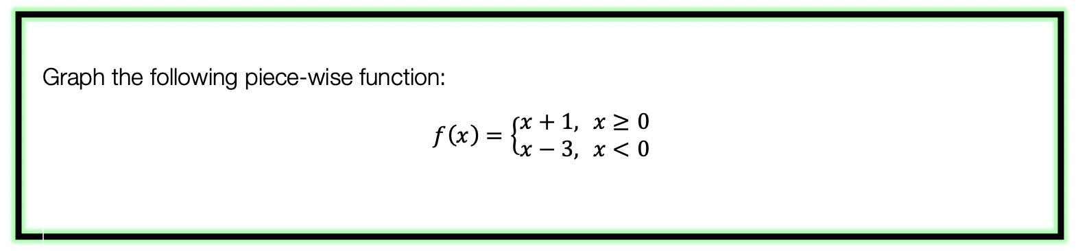 piecewise functions example