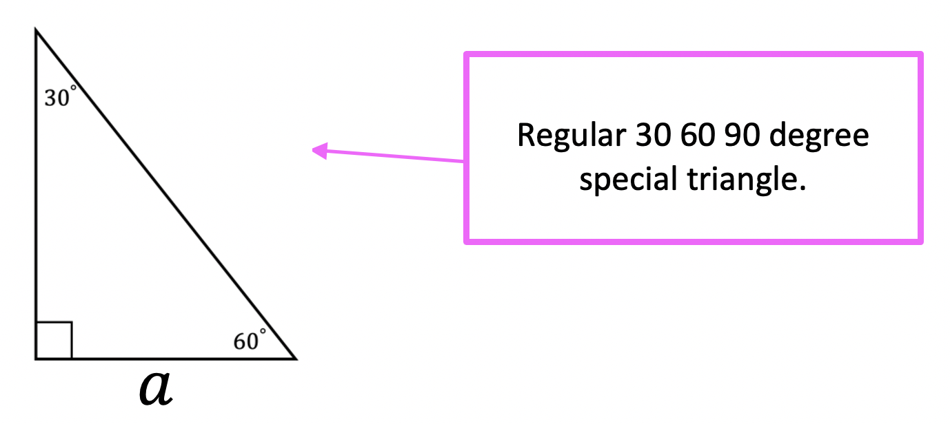 30 60 90 Special Triangles